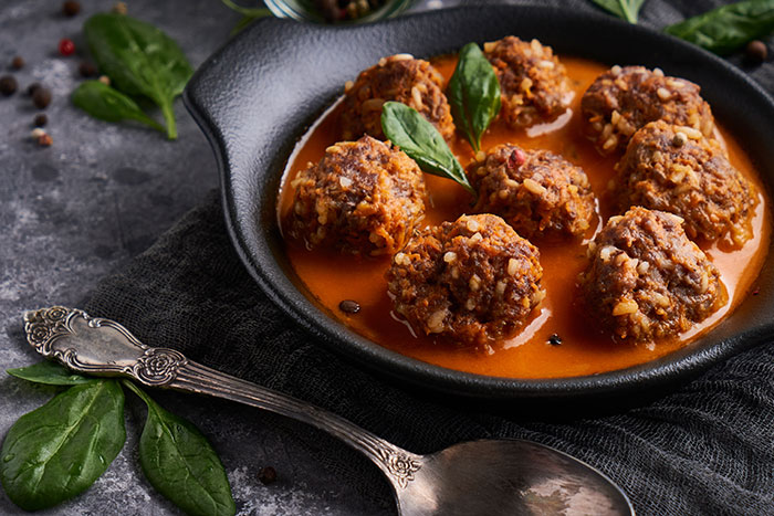 Slow-Cooker Ragu Meatballs