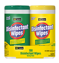 DG Disinfectant Wipes