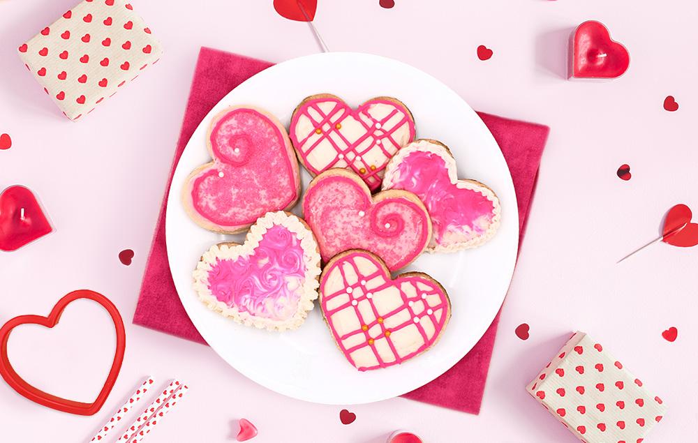 Heart Valentine Cookies