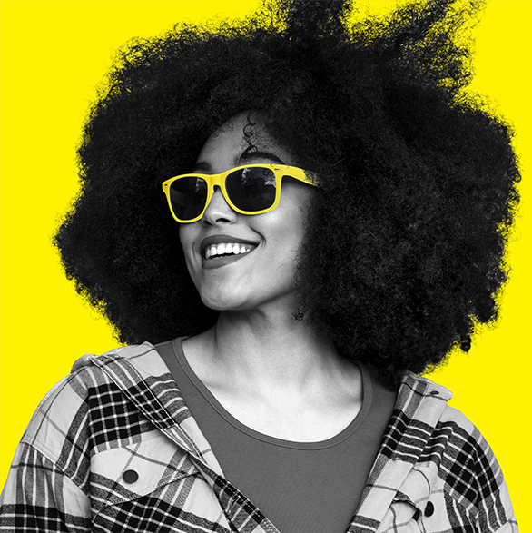 Yellow Glasses Face