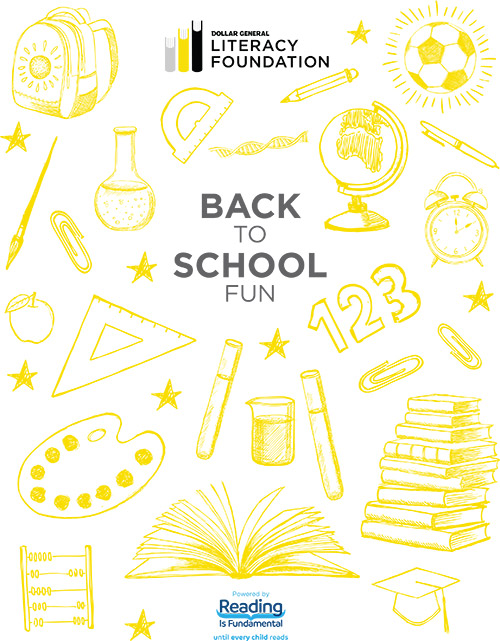 August - Back to School Fun