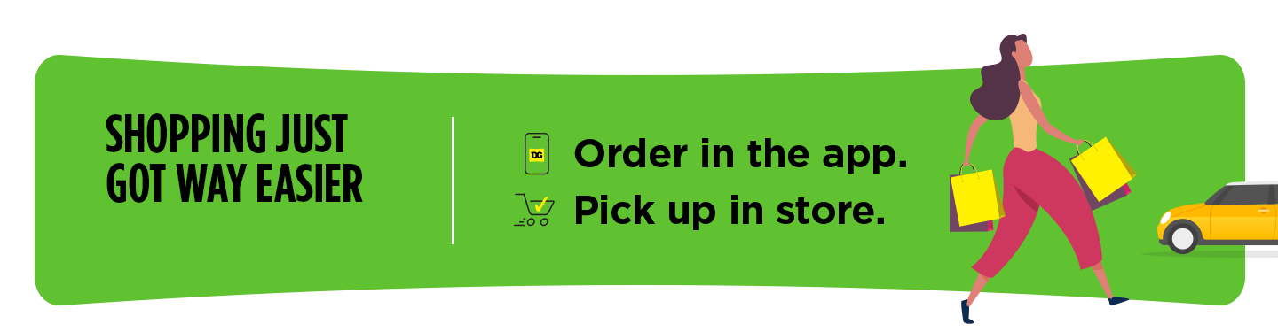 Shopping just got way easier. Order in the app. Pick up in store.
