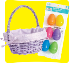 Basket, Eggs, and Grass Category