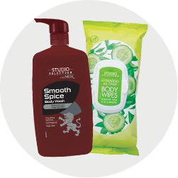 Body wash and body wipes