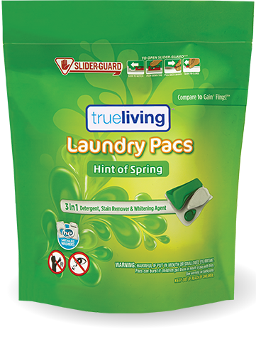 True Living Laundry Detergent