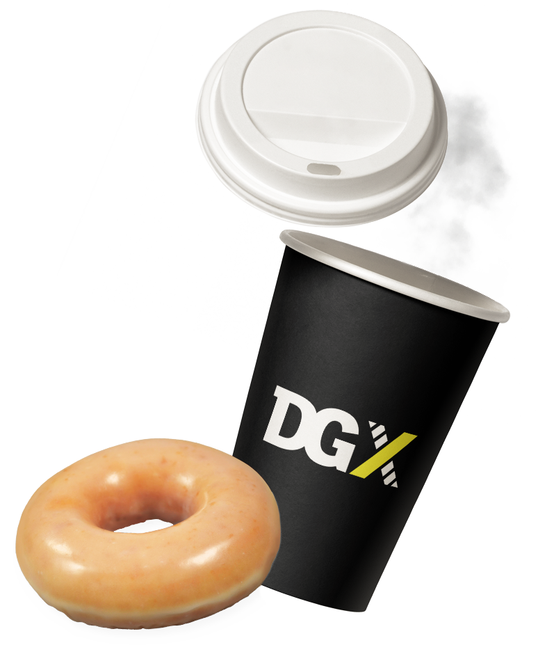 dgx coffee cup