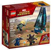 Super Heroes Outrider Dropship Attack $9.50