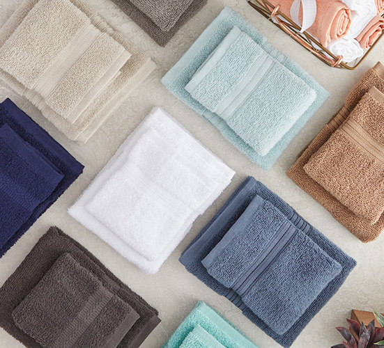 Stock up on bath towels.